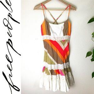 Free People Spaghetti Strap Summer Dress